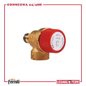 Kit Valvola di Sicurezza Ricambi Caldaia Originali Ferroli FER39809740