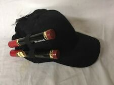 Cigar Buddy Cap - New! - Black Holds Cigars (And much more) For Safe Travel!