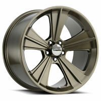 "20"" Vision American Muscle Missile 20x11 Metallic Bronze 5x4.5 Wheel 50mm Rim"