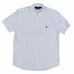 Polo Ralph Lauren Mens Buttondown Classic Fit Twill Shirt Pony Logo Casual New