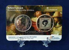 Nederland 2019 HCF Rembrandt coincard BU