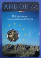 ANDORRE ANDORRA  2 EUROS COMMEMORATIVE 2014 - 2019 Toutes les Années Disponibles