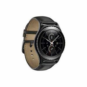 Samsung Galaxy Gear S2 classic 44mm Stainless Steel Case Black Classic Buckle(T…