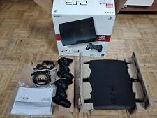 Sony PlayStation 3 Slim 160GB mit 2 Kontrollern - Schwarz (CECH-3004A)