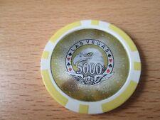 Pokerchip Las Vegas 5000,- $ neu