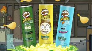 PRINGLES RICK & MORTY SPECIAL EDITION: PICKLE RICK MORTY MEESEEKS (SELECT)