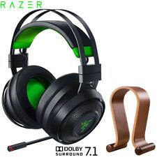 Razer Nari Ultimate 7.1 Surround Sound Wireless Gaming Headset +Headphone Stand