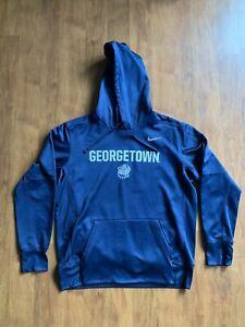 Georgetown Hoyas Nike Dri-Fit Sweatshirt Hoodie Large