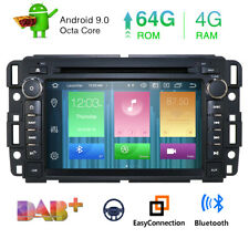 "Headunit 7"" Android 9.0 8 Core 4+64GB Car DVD GPS Stereo Radio for Chevrolet GMC"
