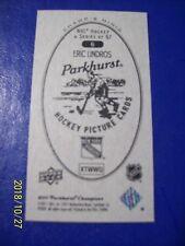 "2011-12 UD Parkhurst Champions (Champs Minis) # 6 Eric Lindros ""Parkhurst Back""!"
