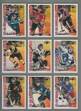 1996-97 Topps NHL Picks 95-96 Rookie Stars Set of 18 RS1-RS18