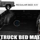 Fit 99-07 Silveradosierra Stepside 6.5 Diamond Truck Bed Trunk Mat Carpet Liner