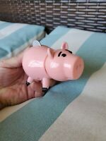 Vintage Toy Story Hamm Action Figure Disney Pixar Thinkway Pop Up Coin Pig 1995