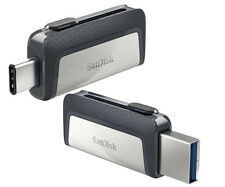SanDisk 32GB 64GB 128GB 256GB OTG USB3.1 TYPE-C Flash Pen Drive lot Memory Stick