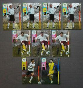 9x Panini World Cup 2006 Germany Oliver Kahn 75 Ballack Wayne Rooney Schevchenko
