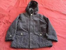 Gymboree 4-5T Boys WOODLAND PARTY Navy Blue Corduroy Coat Jacket sz 4T-5T