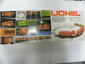 Vintage 1974 Lionel COCA-COLA O27 Electric Train 6-1463 Set