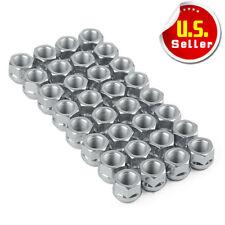 32 Bulge Acorn 9/16-18 Lug Nuts Open End for 2003-2018 DODGE RAM 1500 2500 3500