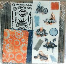 Creative Memories Discover Motor Grunge 12x12 Additions