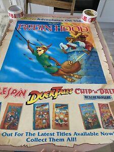 Disney Adventures On Video Advertisng Poster Robin Hood