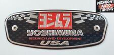 Yoshimura Aluminium Heat Proof Exhaust Decal HONDA YAMAHA SUZUKI KTM KAWASAKI