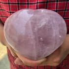 1.73LB+Natural+rose+quartz+crystal+heart+mineral+specimen+crystal+reiki+healing+