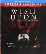 Wish Upon (Blu-ray Disc ONLY, 2017)