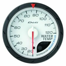 Defi OEM ADVANCE CR WATER TEMPERATURE METER 60mm WHITE ☆ DF09201 ☆