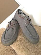 VANS Off the Wall Men's Gray Tweed Loafer Tie Slip On Shoes SZ 9.5