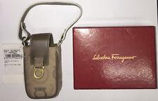 salvatore Ferragamo Monogram vintage mobile cell phone wrist bag Very Rare