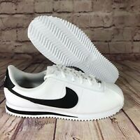 Nike Cortez Basic SL (GS) White/Black Big Kids Running Shoes 904764-102
