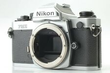 【 NEAR MINT 】 Nikon FM2N New FM2 Silver 35mm SLR Film Camera From JAPAN #220