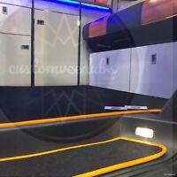 VW T5 T5.1 T6 Transporter Door Step + Sliding Door Mats Custom Designs Edging