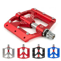 Durable Mountain Bike 3 Sealed Bearings Flat MTB Pedals Bike Accessory^