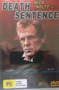 DEATH SENTENCE DVD - 1974 Nick Nolte - Old School B-Grade Thriller Movie - RARE