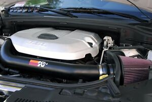 K/&N Performance Cold Air Intake Kit 77-1560KTK with Lifetime Filter for Dodge Durango Jeep Grand Cherokee 3.6L V6 by K/&N
