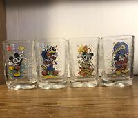 Disney Millennium McDonald's Mickey Mouse World Celebration 2000 EPCOT Glass Set