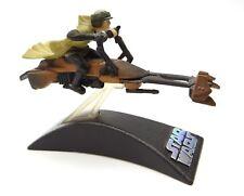 Star Wars Die-Cast Titanium 2006 Series Luke & Speeder Bike Loose Complete