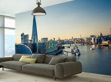 Thames and London City Wall Mural Photo Wallpaper GIANT DECOR Paper Poster