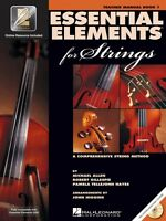 Essential Elements for Strings Book 1 with EEi Teacher's Manual String 000868048