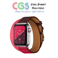 Apple Watch Hermes 40mm Bordeaux/Rose Extreme/Azalee Swift Double Tour A2007