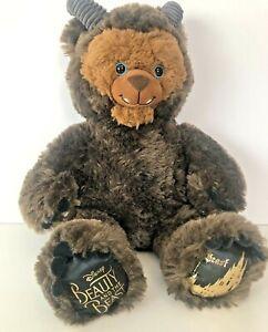 "Disney Build A Bear Beauty & the Beast ""Beast"" Doll Stuffed Animal Toy Plush"