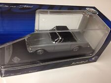 1/43 SOLIDO FACEL VEGA FACELLIA GRISE HARD-TOP 1962 -AUTO CAR COLLECTION VOITURE