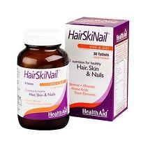 HEALTHAID HAIR-SKIN-NAIL 30 VEGE TAB -NUTRITION FOR HEALTHY HAIR/SKIN/NAILS