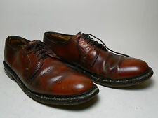1970's Mens Unknown Brand Dress Shoes Size 9 1/2 C Made in the U.S.A. / Used