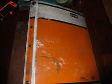 CASE MODEL 580 FORKLIFT PARTS CATALOG MANUAL