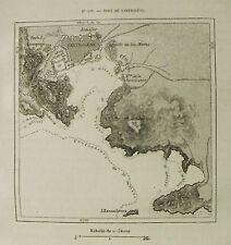 Antica Topografic=Porto di Cartaghena-Port De Carthagène:España.Passpartout=1887
