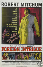 Foreign intrigue Robert Mitchum #2 movie poster