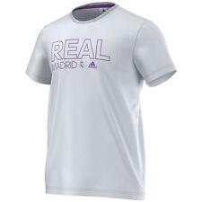 adidas Real Madrid CDF  2016 - 2017 Soccer Fan Tee Shirt New White / Purple