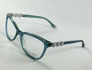 New JUDITH LEIBER COUTURE Affection Zircon Women's Eyeglasses Frames 53-17-140